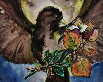 Colorado Life Original Watercolor Painting