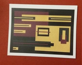 Blank Art Print Cards