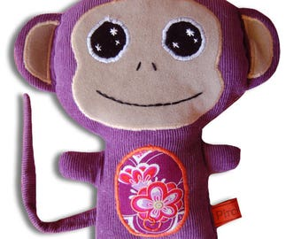 Doudou Purple Monkey
