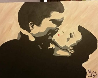 Gone with The Wind Rhett Butler and Scarlet O'Hara