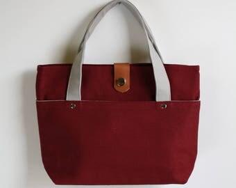 carry bag - warm brick + smokey