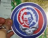 Steal Your Face- Jerry Garcia Vinyl Sticker
