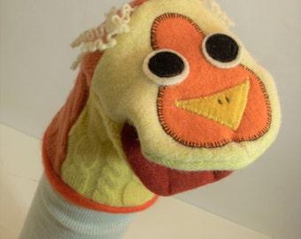 handpuppet of wool named Beatrice