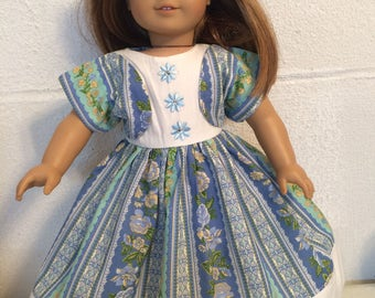 "Doll clothes that fits 18"" dolls like  the American girl"