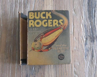 1936 Buck Rogers in the 25th Century and the Planetoid Plot Little Big Book
