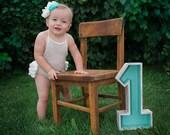 Sitter Romper with Ruffles, Newborn Knitted Onesie, Newborn Photo Props, U Choose Color Size