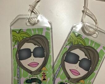 Luggage Tags - Aloha