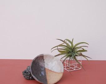 Duo Dish / Stoneware Ceramic Dish / Jewelry Dish