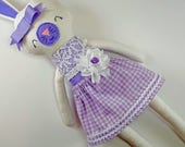 RESERVED FOR MAGS- Bunny Doll- Easter Bunny- Easter Basket- Easter Gift