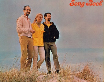The Peter Paul and Mary Song Book HUGE 143 Page Song Book Piano / Vocal / Guitar CHORD DIAGRAMS