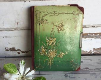 Antique Photo Album - 1800s Cabinet Photo Holder
