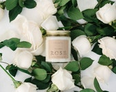 Rose Scented Soy Candle