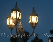 Lamps at Dusk