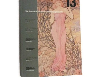 Art nouveau issue - The Journal of Decorative and Propaganda Arts - Summer 1989 -  Stile Floreale issue - Italian
