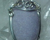 Lepidolite Sterling Silver Wire Art Pendant Make Great Transitions In Your Life And Promote Self Love 202