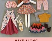 The Make-Along Doll: a pattern subscription