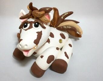 Polymer Clay HORSE Figurine