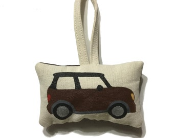 Mini Cooper Hand Painted Ornament by SBMathieu