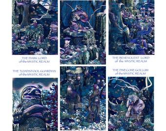 Mystic Realm Fantasy Art Prints