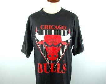 Chicago Bulls T-shirt by Starter, Made in the USA