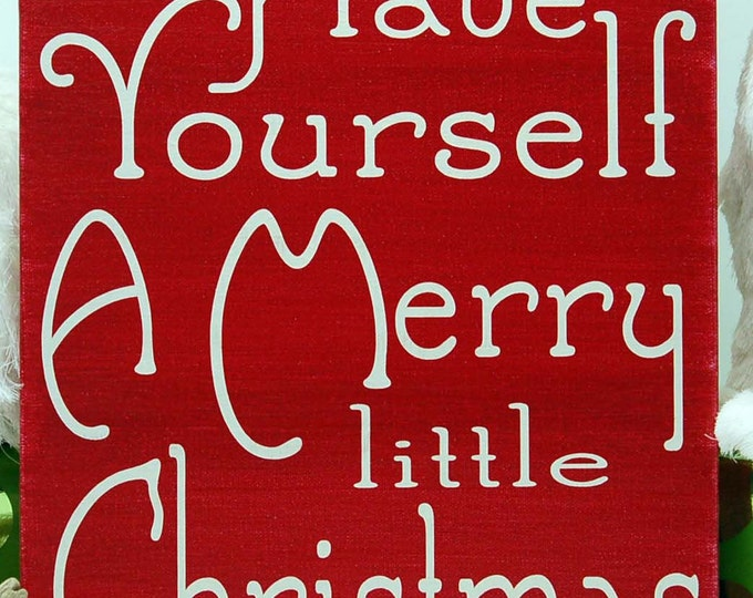 Have yourself a Merry Little Christmas,  Christmas Decor, Christmas Decoration, Christmas song, Frank Sinatra,Christmas wall decor,Christmas