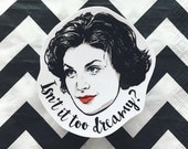 Audrey Horne Twin Peaks Vinyl Sticker