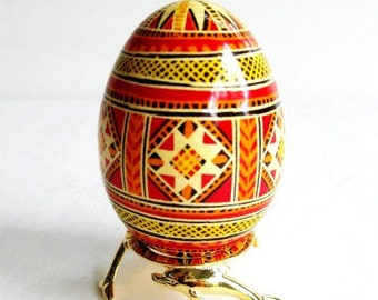 Symbol of fertility wholesomeness and well being egg always represented start of new life Christ Resurrection and new beginning Easter gift