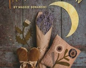 Softcover Book, Thistle Down Moon, Primitive Project Book, Primitive Decor, Hooked Rug, Wool Mat, Maggie Bonanomi, Kansas City Star Quilts