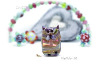 Glass Cat Bead 579