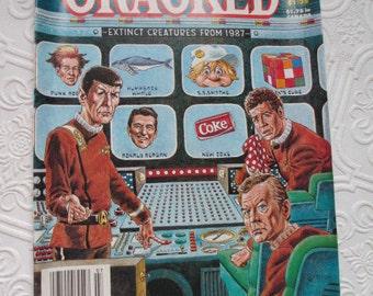 CRACKED MAGAZINE Star Trek Issue 228 July 1987