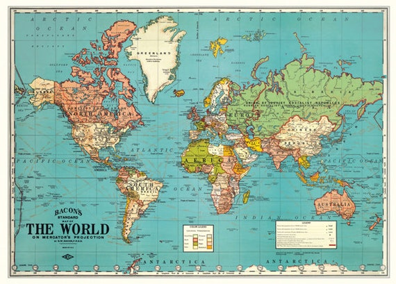 Vintage world map printable map print instant digital download printable maprsery artold world map download mapp clip art from modernismandvintage on etsy studio gumiabroncs