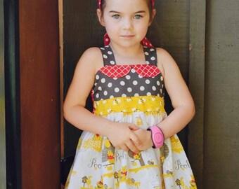 Ready to Ship Size 2 Winnie The Pooh Dress