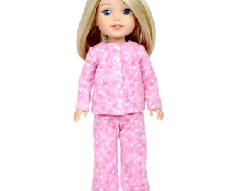"Download Now - Sewing Pattern 13 - 14.5"" Doll Slumber Party Pajamas"