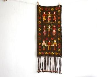 Capalia Wool Village People Textile