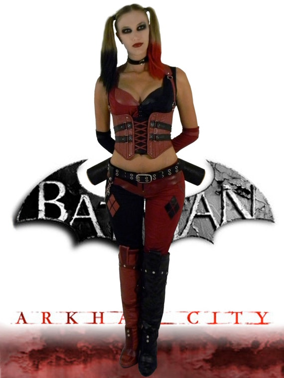 Xena Warrior Princess Costume Replica Harley Quinn Arkham Ci...