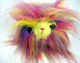 Plush monster toy - Stuffed toy - plush toy - monster toy - Rainbow Monster - stuffed monster - Plushie - Softie - Kawaii Plush Monster OOAK