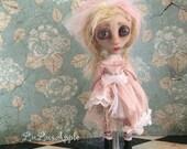 Beth sad child Valentines Mini Lu Art Doll OOAK LuLusApple