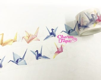 Origami Crane Washi Tape (30mm x 5m) WT997