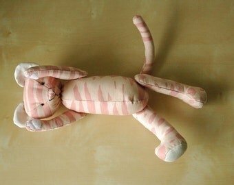 Cute Kitty Cat Handmade Eco friendly Soft Toy