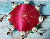 Pretty in Pink Chinese Pincushion