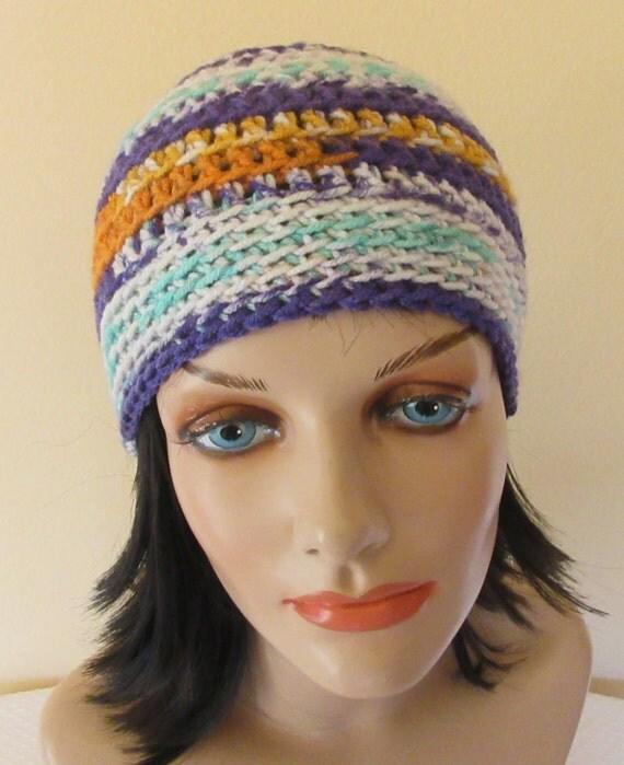 Purple Crochet Beanie, Winter Beanie, Cold Weather Hat, Ski Hat, Ice Skating, Hockey Mom, Snow Playing, Purple Snow Hat
