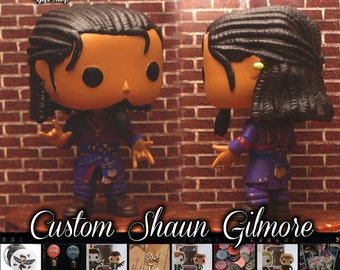 Critical Role Shaun Gilmore - Custom Funko pop toy