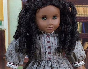 18 Inch Doll Clothes for America Girl Dolls - Day Dress for Addy, Cecile, Marie-Grace, or Kirsten
