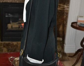 Sizzling Summer Sale Coach~Coach Bag~Coach Legacy Bag~ Coach 9011~ Black Suede Coach Bag~ Excellent Condition