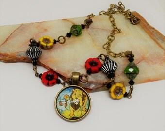 WIZARD of OZ  Necklace, Oz Necklace, Oz Jewelry, Wizard of Oz