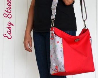 Ellen's Esplanade Easy Street Cross Body Bag Sewing Pattern