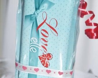Valentine's Day Candy Bar Wrapper, Valentine's Day favors, Valentine's Day Personalized wrappers, Personalized Valentine's Day. Set of 20.