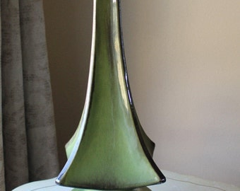 Vintage Retro Green Table Lamp