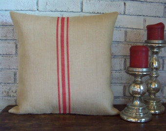 Farmhouse Decorative Pillow Cover Farmhouse Living Room Decor Country Throw Pillow Vintage Grain
