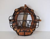 Vintage Catchers Mask Steel Cage